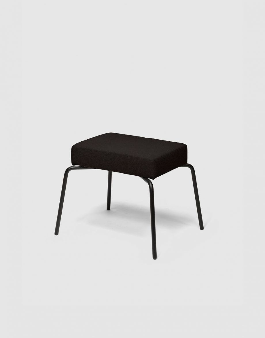 Option Lounge Footstool_226,5x289mm_Black_1
